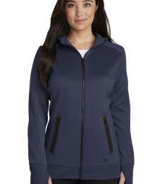 New Era Apparel LNEA522 New Era  Ladies Venue Fleece Full-Zip Hoodie