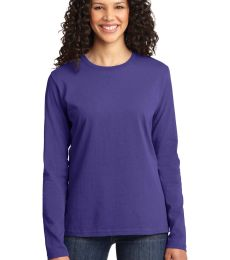 LPC54LS Port & Company® Ladies Long Sleeve 5.4-oz 100% Cotton T-Shirt