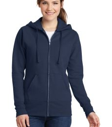Port & Co LPC78ZH mpany   Ladies Core Fleece Full-Zip Hooded Sweatshirt