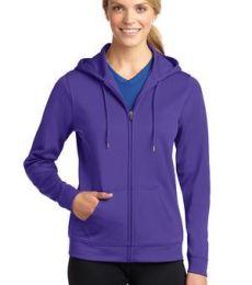 LST238 Sport-Tek® Ladies Sport-Wick® Fleece Full-Zip Hooded Jacket