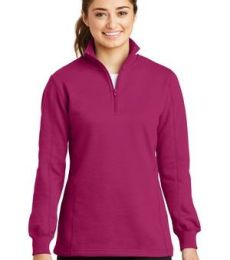 Sport Tek Ladies 14 Zip Sweatshirt LST253