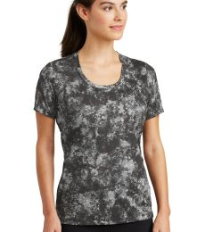 Sport Tek LST330 Sport-Tek Ladies Mineral Freeze Scoop Neck Tee