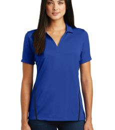 Sport Tek LST620 Sport-Tek Ladies Contrast PosiCharge Tough Polo
