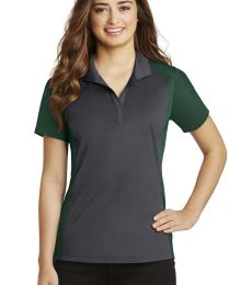 Sport Tek LST652 Sport-Tek Ladies Colorblock Micropique Sport-Wick Polo