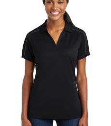 Sport Tek LST653 Sport-Tek Ladies Micropique Sport-Wick Piped Polo