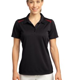 Sport Tek Ladies Vector Sport Wick Polo LST670