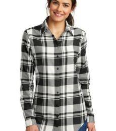 242 LW668 Port Authority Ladies Plaid Flannel Tunic