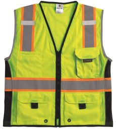 1513-1514 ML Kishigo - Black Series Heavy Duty Vest