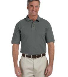 Harriton M200 Men's 6 oz. Ringspun Cotton Piqué Short-Sleeve Polo