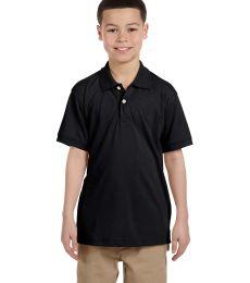 Harriton M265Y Youth 5.6 oz. Easy Blend™ Polo