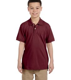 Harriton M265Y Youth 5.6 oz. Easy Blend™ Polo