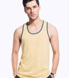 MC1792 Cotton Heritage Men's Ringer Tank