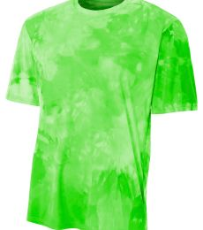 NB3295 A4 Drop Ship Youth Cloud Dye T-Shirt