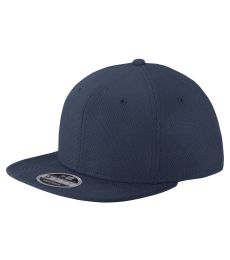 New Era NE404   Original Fit Diamond Era Flat Bill Snapback Cap