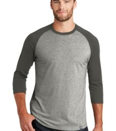 1001 NEA104 New Era  Heritage Blend 3/4-Sleeve Baseball Raglan Tee