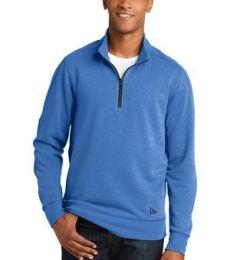 1001 NEA512 New Era  Tri-Blend Fleece 1/4-Zip Pullover