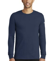 Nike BQ5230  Dri-FIT Cotton/Poly Long Sleeve Tee