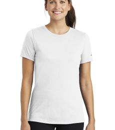 Nike BQ5234  Ladies Dri-FIT Cotton/Poly Scoop Neck Tee