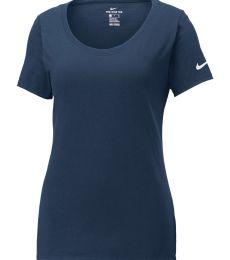 Nike BQ5236  Ladies Core Cotton Scoop Neck Tee