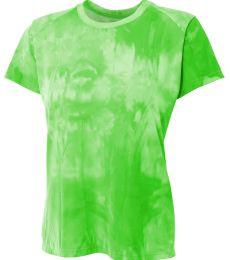 NW3295 A4 Drop Ship Ladies' Cloud Dye Tech T-Shirt