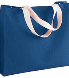 750 Bayside Medium Gusset Cotton Canvas Tote