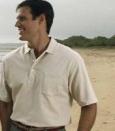 Outer Banks® Essential Pique Polo with Pocket