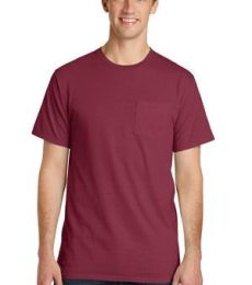 Port & Co PC099P mpany   Pigment-Dyed Pocket Tee
