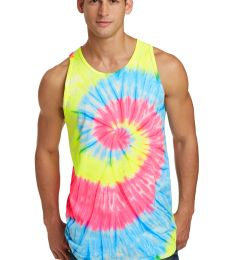 Port & Co PC147TT mpany   Tie-Dye Tank Top