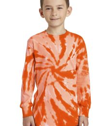 Port & Co PC147YLS mpany   Youth Tie-Dye Long Sleeve Tee