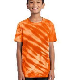 Port  Company Youth Essential Tiger Stripe Tie Dye Tee PC148Y