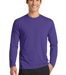 PC381LS Blended long sleeve performance tee shirt by port and company