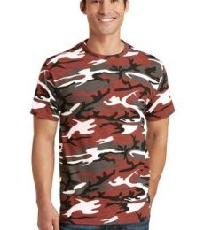 Port & Co PC54C mpany   Core Cotton Camo Tee