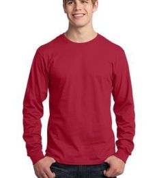 Port  Company Long Sleeve 54 oz 100 Cotton T Shirt PC54LS