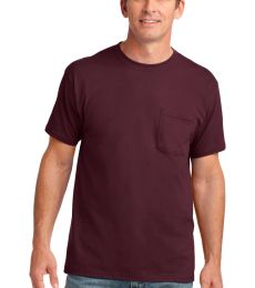 Port & Co PC54P mpany   Core Cotton Pocket Tee