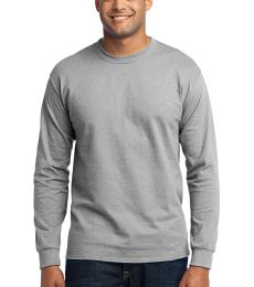 Port  Company Long Sleeve 5050 CottonPoly T Shirt PC55LS