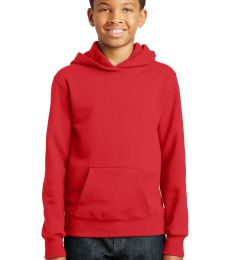 Port & Co PC850YH mpany   Youth Fan Favorite Fleece Pullover Hooded Sweatshirt