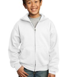 Port  Company Youth Full Zip Hooded Sweatshirt PC90YZH
