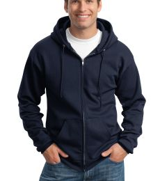 Port & Co PC90ZHT mpany   Tall Essential Fleece Full-Zip Hooded Sweatshirt