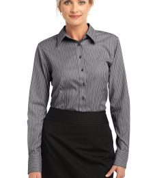 Red House Ladies Stripe Non Iron Pinpoint Oxford RH65
