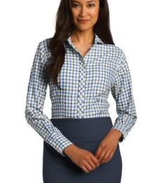 RH75 Red House® Ladies Tricolor Check Non-Iron Shirt