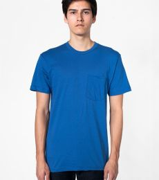 American Apparel 2406 Unisex Fine Jersey Pocket T-Shirt
