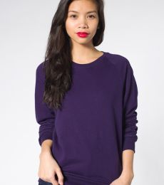 American Apparel 5454 Unisex California Fleece Raglan