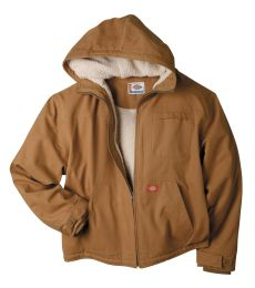 TJ350 Dickies Duck Sherpa Lined Hooded Jacket