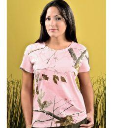 3685 Code V Ladies Realtree T Shirt