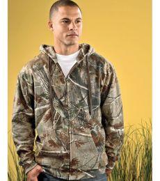 3989 Code V REALTREE Zipper Hooded Sweatshirt