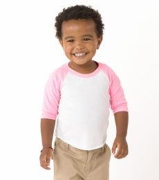 BB053 American Apparel Comparable Los Angeles Apparel FF0053 / Infant Raglan