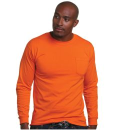 1730 Bayside Adult Long-Sleeve Tee With Pocket
