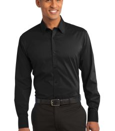 Port Authority S646    Stretch Poplin Shirt