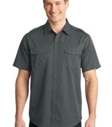 Port Authority S648    Stain-Release Short Sleeve Twill Shirt