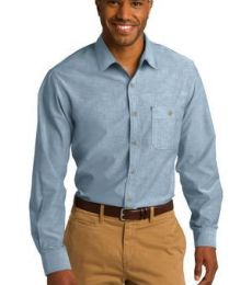 242 S653 CLOSEOUT Port Authority Chambray Shirt